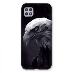Coque Pour Samsung Galaxy A22 5G Aigle Royal Noir
