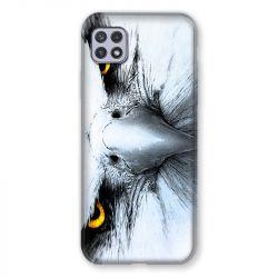 Coque Pour Samsung Galaxy A22 5G Aigle Royal Blanc