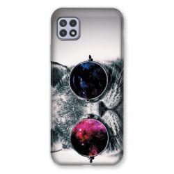 Coque Pour Samsung Galaxy A22 5G Chat Fashion