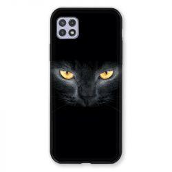 Coque Pour Samsung Galaxy A22 5G Chat Noir