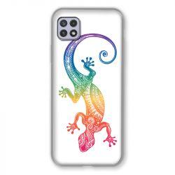 Coque Pour Samsung Galaxy A22 5G Animaux Maori Salamandre Color