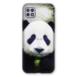Coque Pour Samsung Galaxy A22 5G Panda Color