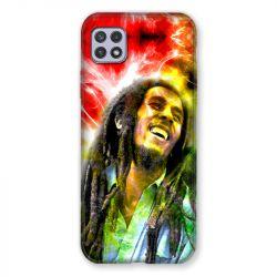 Coque Pour Samsung Galaxy A22 5G Bob Marley Color