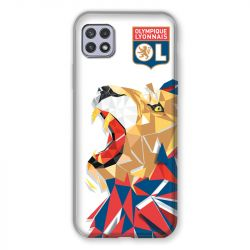 Coque Pour Samsung Galaxy A22 5G License Olympique Lyonnais OL - lion color