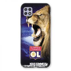 Coque Pour Samsung Galaxy A22 5G Licence Olympique Lyonnais - Rage de vaincre