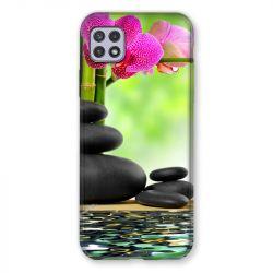 Coque Pour Samsung Galaxy A22 5G Orchidee Eau