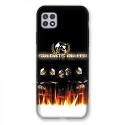 Coque Pour Samsung Galaxy A22 5G Pompier Soldat