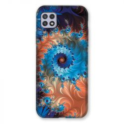 Coque Pour Samsung Galaxy A22 5G Psychedelic Spirale