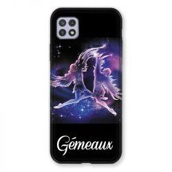 Coque Pour Samsung Galaxy A22 5G Signe Zodiaque 2 Gémeaux