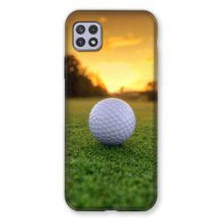 Coque Pour Samsung Galaxy A22 5G Golf Balle