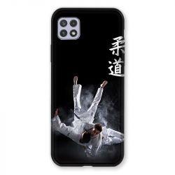 Coque Pour Samsung Galaxy A22 5G Judo Noir