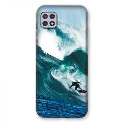 Coque Pour Samsung Galaxy A22 5G Surf Vague
