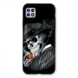 Coque Pour Samsung Galaxy A22 5G Tete de Mort family business