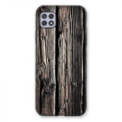 Coque Pour Samsung Galaxy A22 5G Texture Bois