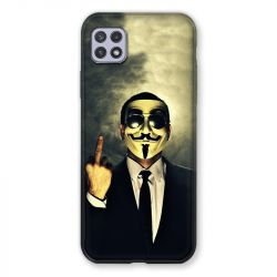 Coque Pour Samsung Galaxy A22 5G Anonymous Doigt