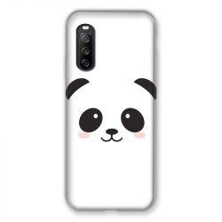 Coque Pour Sony Xperia 10 III (3) Panda Blanc
