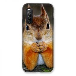Coque Pour Sony Xperia 10 III (3) Ecureuil Face