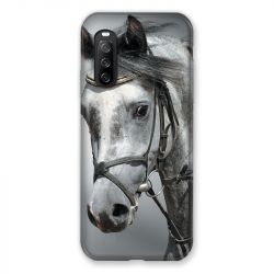 Coque Pour Sony Xperia 10 III (3) Cheval Blanc