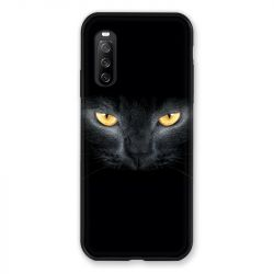 Coque Pour Sony Xperia 10 III (3) Chat Noir