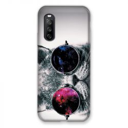 Coque Pour Sony Xperia 10 III (3) Chat Fashion