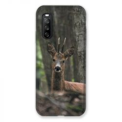 Coque Pour Sony Xperia 10 III (3) Chasse Chevreuil Bois