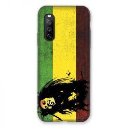 Coque Pour Sony Xperia 10 III (3) Bob Marley Drapeau
