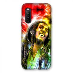 Coque Pour Sony Xperia 10 III (3) Bob Marley Color