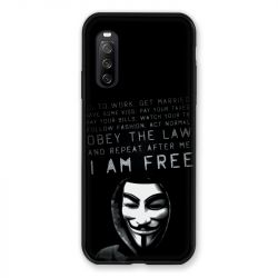 Coque Pour Sony Xperia 10 III (3) Anonymous I am free