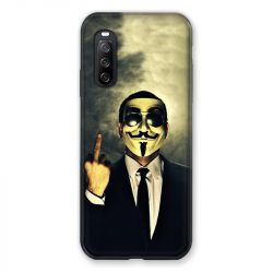 Coque Pour Sony Xperia 10 III (3) Anonymous Doigt
