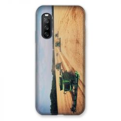 Coque Pour Sony Xperia 10 III (3) Agriculture Moissonneuse