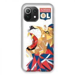 Coque Pour Xiaomi Mi 11 Lite 4G / 5G License Olympique Lyonnais OL - lion color