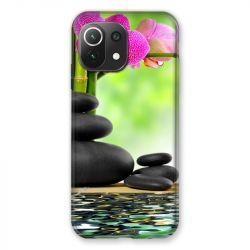 Coque Pour Xiaomi Mi 11 Lite 4G / 5G Orchidee Eau