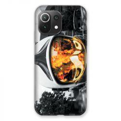 Coque Pour Xiaomi Mi 11 Lite 4G / 5G Pompier Casque Feu