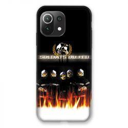 Coque Pour Xiaomi Mi 11 Lite 4G / 5G Pompier Soldat