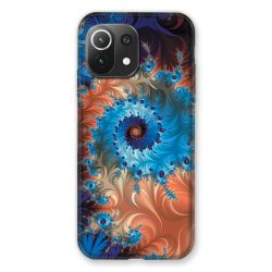 Coque Pour Xiaomi Mi 11 Lite 4G / 5G Psychedelic Spirale