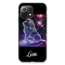 Coque Pour Xiaomi Mi 11 Lite 4G / 5G Signe Zodiaque 2 Lion