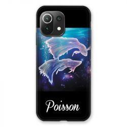 Coque Pour Xiaomi Mi 11 Lite 4G / 5G Signe Zodiaque 2 Poisson