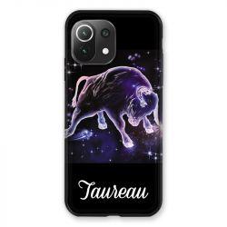 Coque Pour Xiaomi Mi 11 Lite 4G / 5G Signe Zodiaque 2 Taureau