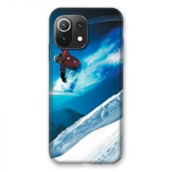 Coque Pour Xiaomi Mi 11 Lite 4G / 5G Snowboard Saut