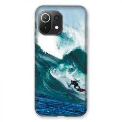 Coque Pour Xiaomi Mi 11 Lite 4G / 5G Surf Vague