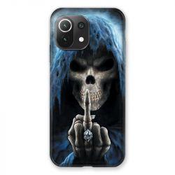 Coque Pour Xiaomi Mi 11 Lite 4G / 5G Tete de Mort Doigt
