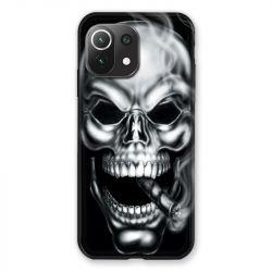 Coque Pour Xiaomi Mi 11 Lite 4G / 5G Tete de Mort Fume