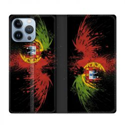 Housse Cuir Portefeuille Pour Iphone 13 Pro Max Portugal Aigle