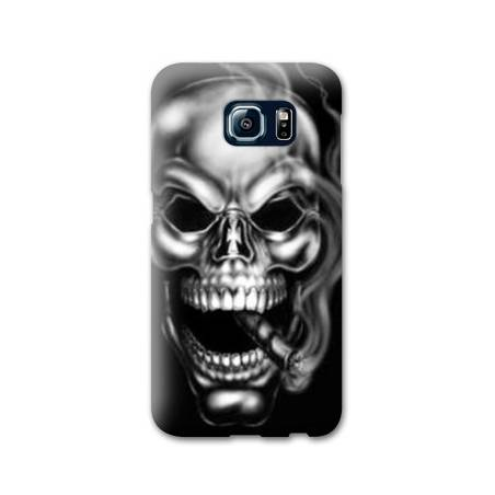 Coque Samsung Galaxy S6 tete de mort