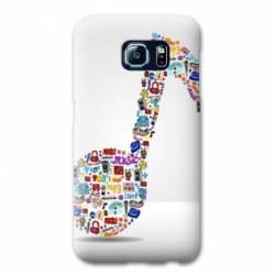 Coque Samsung Galaxy S6 Musique