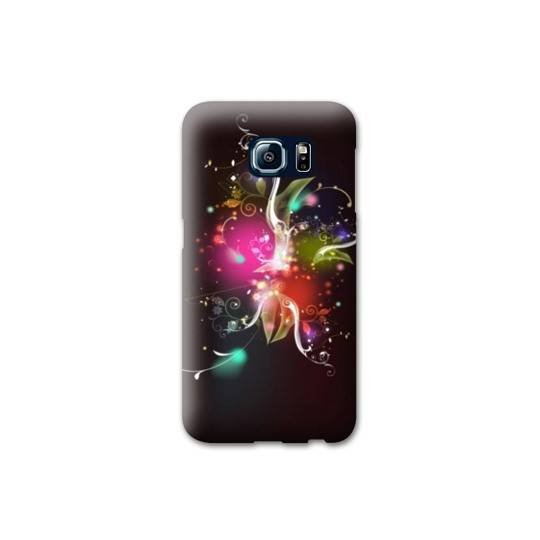 coque de telephone fleur samsung galaxy s6