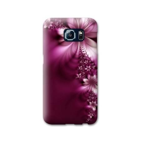 Coque Samsung Galaxy S6 fleurs