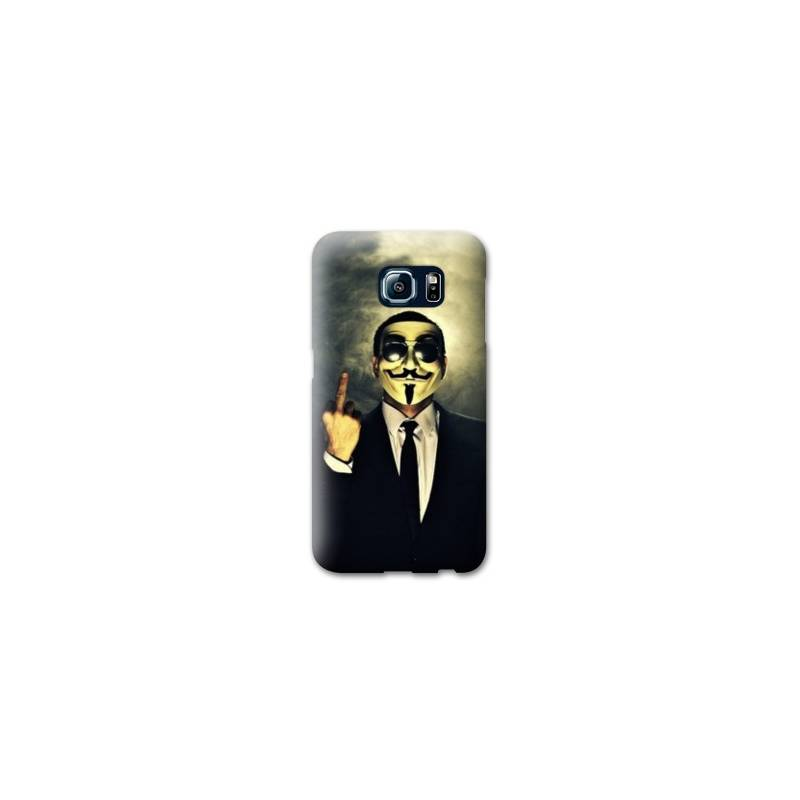 Coque pour Samsung Galaxy S6 Anonymous