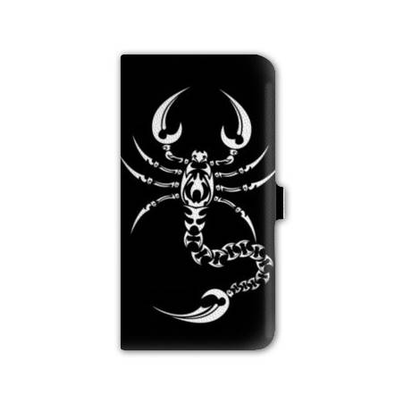 housse cuir portefeuille Iphone 6 plus + reptiles