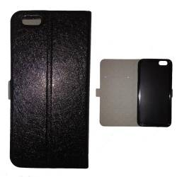 Housse cuir portefeuille cuir Iphone 6  Espace Univers Galaxie